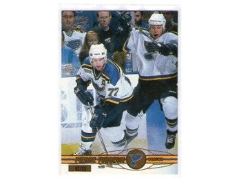 2000-01 PACIFIC GOLD #353 Pierre Turgeon /50 BLUES