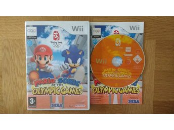 Nintendo Wii: Mario & Sonic at the Olympic Games (svenskt)
