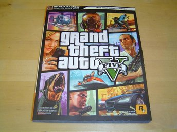 Grand Theft Auto 5 GTA 5 Playstation 3 PS3 & Xbox 360 Guide *NYTT*