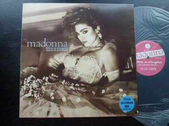 "MADONNA/DONNA SUMMER Split promo only 12"" Japan  Very rare!"