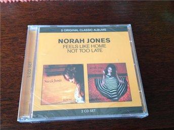Norah Jones-Feels like home Not too late - 2 cd on 1 - örebro - Norah Jones-Feels like home Not too late - 2 cd on 1 - örebro
