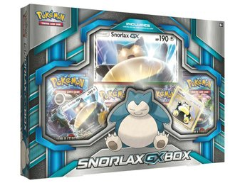 Pokemon Snorlax GX Box - Kortspel