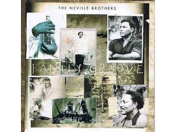 The Neville Brothers - Family Groove (1992) CD, A&M 397 180-2, OOP, Like New