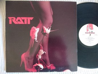 "RATT - RATT  1983  MUSIC FOR NATIONS  FRANCE  MEDIUMPLAY 12""  EXCELLENT!"