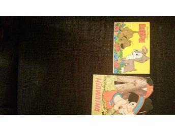 Disney Ludde & Hiawatha i bra skick 70-tal - Gävle - Disney Ludde & Hiawatha i bra skick 70-tal - Gävle