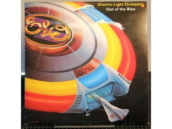 ELO,ELECTRIC LIGHT ORCHESTRA, OUT OF THE BLUE, 1977, DUBBEL-LP