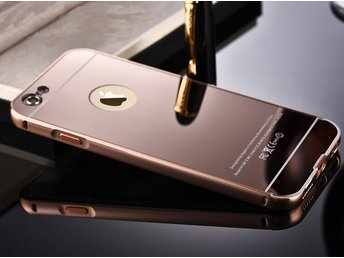 Metal Mirror Bumper - iPhone 8 RoseGuld
