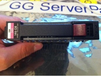 HP 146GB 10K SAS SFF SP 432320-001