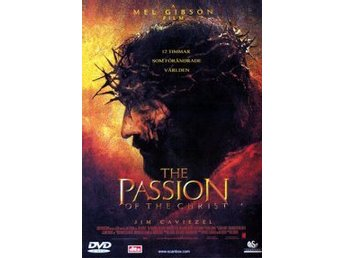 Passion of the Christ-av Mel Gibson med James Caviezel och Maia Morgenstern.