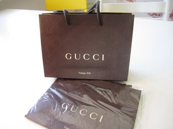 Gucci Shopping bag i papper