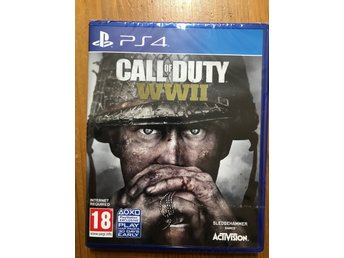 CALL OF DUTY : WWII / PS4 / NYTT & INPLASTAT