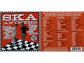 Ska Anthems, CD-box, Original Ska Classics (3CD)
