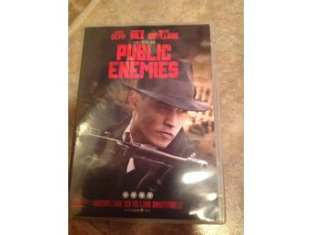 Public enemies dvd, thriller med Johnny Depp