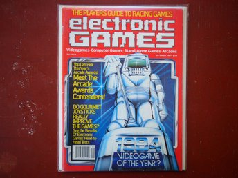- ELECTRONIC GAMES - September 1983, fint skick!