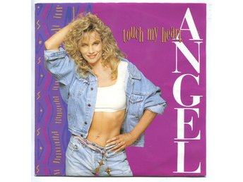 "Angel -Touch my heart (2 vers) 7"" Hol 1989 Italo-disco house"