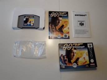 Nintendo 64 The World Is Not Enough James Bond