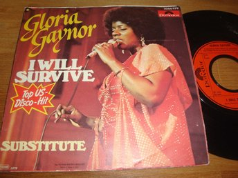 "GLORIA GAYNOR - I WILL SURVIVE 7"" 1978 FRA"
