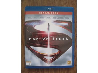 Man of Steel (Blu ray, action, DC)