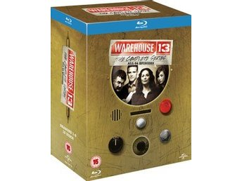 Warehouse 13 The Complete Series 1-5 Blu-ray