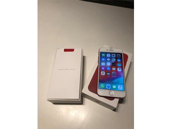 Iphone 7 128gb olåst A-klass Red edition