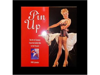 Pin-Up Kalender 1999 Bevarad Som Ny. The Art Of Glamour.