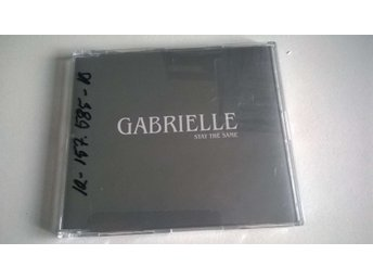 Gabrielle - Stay The Same, Promo, Single CD
