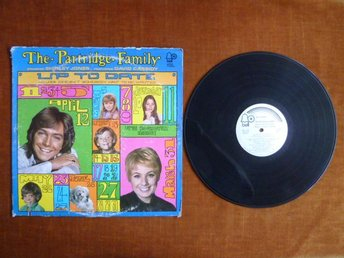 THE PARTRIDGE FAMILY,  UP TO DATE, LP,  LP-SKIVA