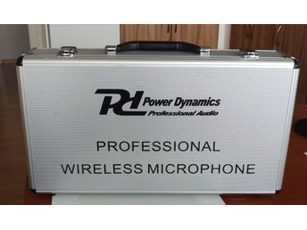 Power Dynamics	PD732H 2x 16-Channel UHF Wireless Microphone System True Diversit