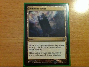 Magic the Gathering, MtG kort, Commander 2013 - Command Tower NM
