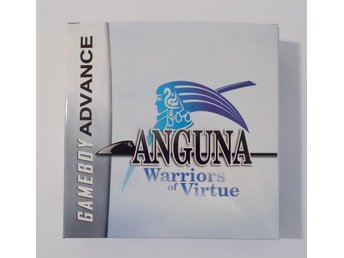 GBA: Anguna - Warriors of Virtue! NYTT! (Typ Zelda)
