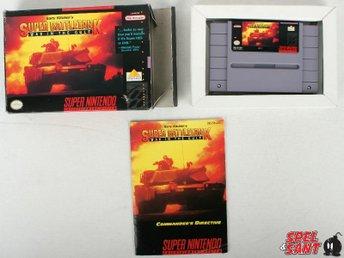 Super Battletank War In The Gulf (inkl. Skyddsbox & Amerikansk Version) - Norrtälje - Super Battletank War In The Gulf (inkl. Skyddsbox & Amerikansk Version) - Norrtälje