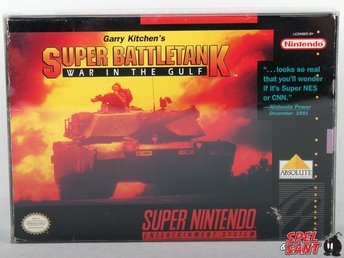 Super Battletank War In The Gulf (inkl. Skyddsbox & Amerikansk Version)