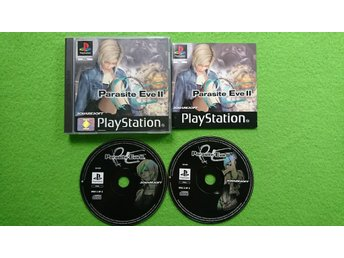 Parasite Eve 2 ENGELSK TEXT Playstation ps1