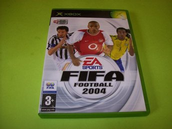 FIFA FOOTBALL 2004 HELT NYTT (X-BOX)