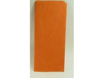 Orange silkespapper 2-pack
