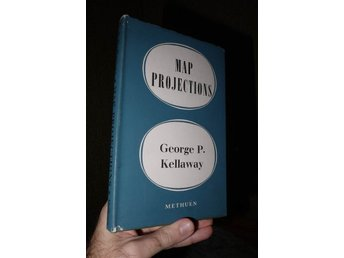 Map Projections (1964) George P Kellaway Bok om kartor karta