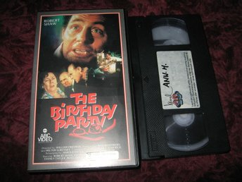 THE BIRTHDAY PARTY (ROBERT SHAW,PATRICK MAGEE) VHS