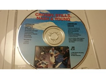 CROSBY, STILLS, NASH & YOUNG, AMERICAN DREAM, PROMO, ATLANTIC 1988, PR 2497-2