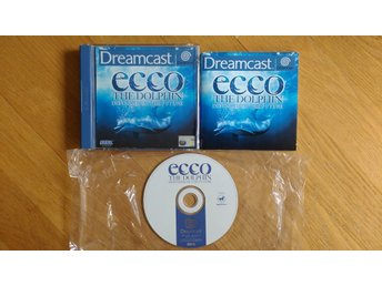 SEGA Dreamcast: Ecco the Dolphin: Defender of the Future