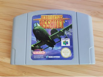 N64 Nintendo 64 spel - Aerofighters Assault