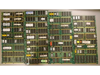 SDRAM 35 pieces 32; 64; 128; 256 Mb, PC100 & PC133