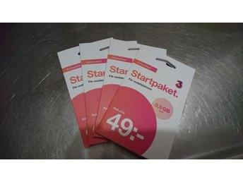 Start paket 49 kr & 0,5 GB surf