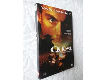THE QUEST (Limited BIG HARDBOX) Jean Claude Van Damme (111 ex) OOP RARE