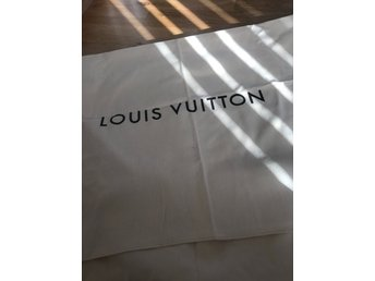 Dustbag från Louise Vuitton - äkta - stor
