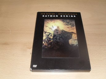 Dvd-film: Batman begins (Christian Bale, Morgan Freeman) (2-discs)