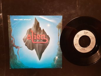 Alien Only one woman/vinylsingel 1988