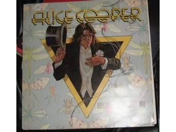 "alice cooper LP ""welcome to my nightmare"