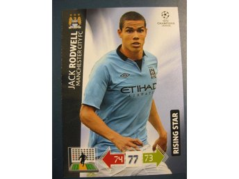 RISING STAR -  JACK RODWELL -  MANCHESTER CITY - CHAMPIONS LEAGUE 2012-2013