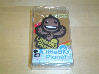 Happy Sackboy Leksak Nyckelring Little Big Planet *NYTT*