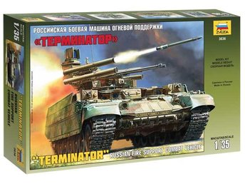 "Zvezda 1/35 Russian Armored Fighting Vehicle BMPT ""Terminator"""